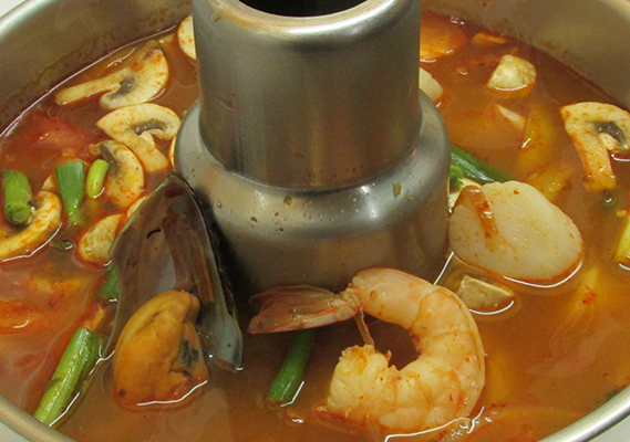 COMBINATION SEAFOOD SOUP*