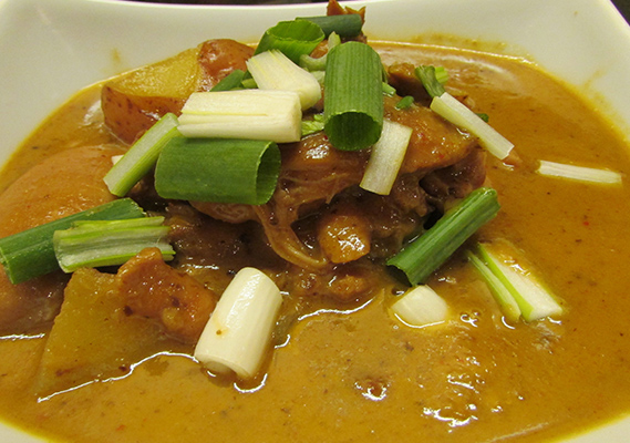 MASSAMAN CURRY**