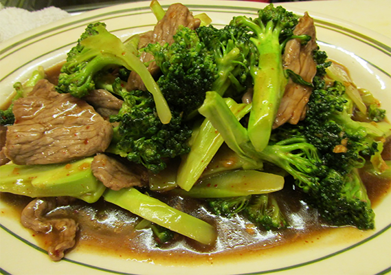 STIR FRIED BROCCOLI *