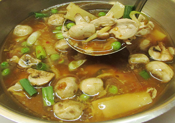 HOT AND SOUR SOUP*
