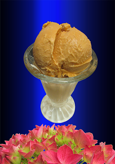 HOMEMADE THAI TEA ICE CREAM