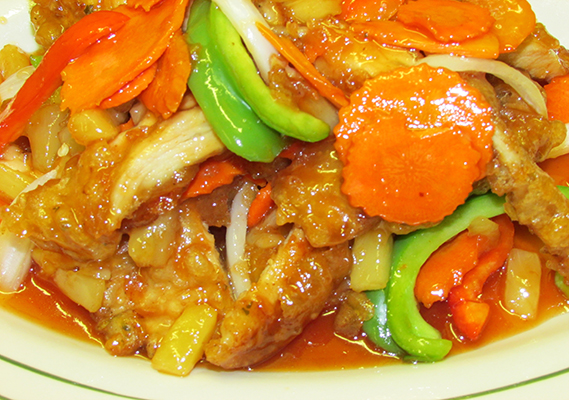 THAI SWEET & SOUR CHICKEN - DINNER
